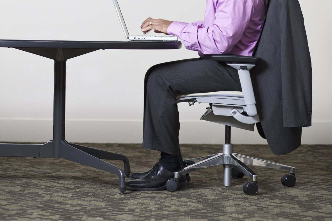 The Dangers of Sitting at Work