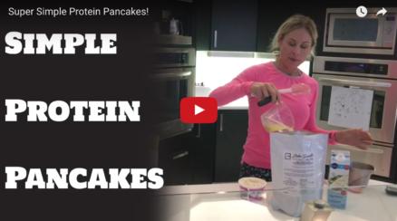 Mia's Simply Fluffy Protein Pancakes